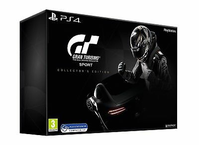 GT Sport Gran Turismo Collector's Edition Sony PS4 NUOVO