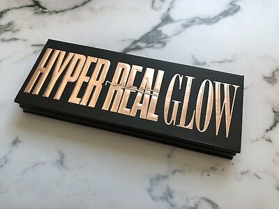 MAC Hyper Real Glow Palette Extra Dimension Highlighter Flash + Awe Becca M.A.C