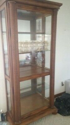 Lighted China / Curio Cabinet