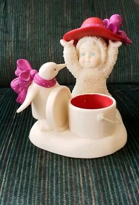 "Snowbabies Dept 56 ""dress With Style"" Red Hat Society"