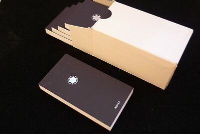 "ORIGINAL MONTBLANC PACK OF No.5 BLOCK NOTES ""BABY NOTES"" BLOCCO NOTE REF. 9598"
