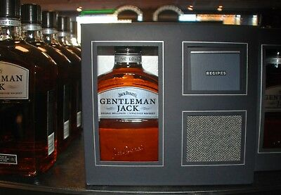 New Jack Daniel's Gentleman Jack 4 different pattern coasters and recipe book