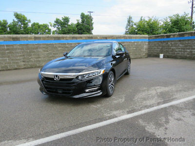 Honda Accord Hybrid EX-L w/Navi Sedan EX-L w/Navi Sedan New 4 dr CVT 2.0L 4 Cyl Crystal Black Pearl