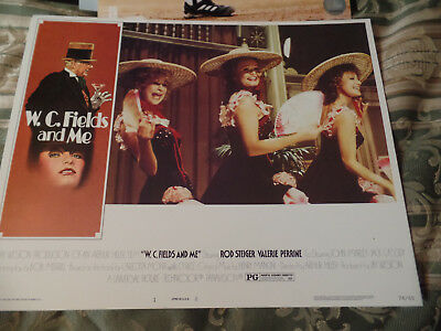 EIGHT W.C. Fields and ME Original 11x14 Lobby Cards Rod Steiger
