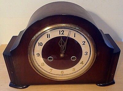 """Smiths Enfield Clock Co Chiming Mantel Clock 30cm/12"""" Wide"""