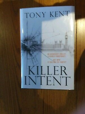 Killer Intent By Tony Kent - Signed Limited 1st Edition 37/100