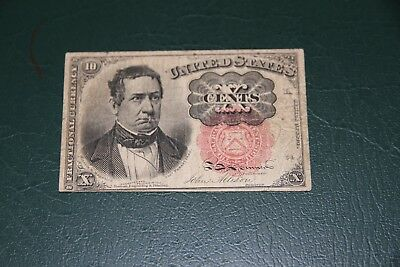 10  Cent  Fractional Currency FR 1265  Fine
