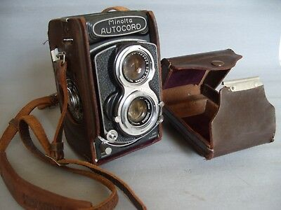 Minolta autocord tlr camera