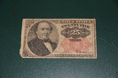 25  Cent  Fractional Currency FR 1309 F