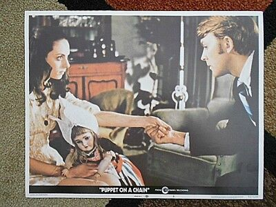 Alistair MacLean's PUPPET ON A CHAIN Vintage Lobby Card #6 1972 Cinerama 72/120