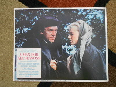 A MAN FOR ALL SEASONS Vintage Lobby Card #1 1967 Columbia Pictures Zinneman 67/3