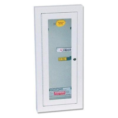 Kidde 468047 Potter Roemer Semi-Recessed 10-Pound Fire Extinguisher Cabinet...