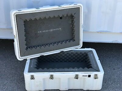 """Pelican Hardigg Shipping Container 
