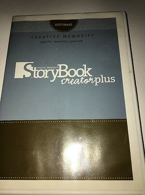Creative Memories Storybook Creator Plus 2 CDS And Booklet-Copyright 2007-TESTED