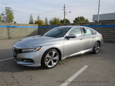 Honda Accord Sedan Touring CVT Touring CVT 4 dr Sedan CVT Gasoline 1.5L 4 Cyl Lunar Silver Metallic