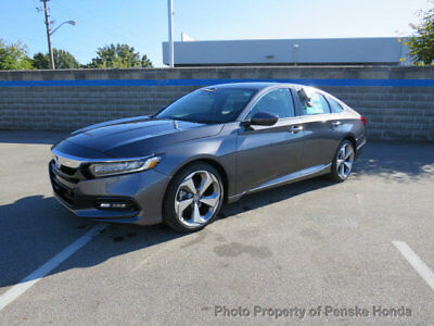 Honda Accord Sedan Touring CVT Touring CVT 4 dr Sedan CVT Gasoline 1.5L 4 Cyl Modern Steel Metallic