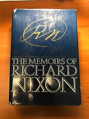 The Memoirs of Richard Nixon - Signed Book - Grosset and Dunlap - First Edition