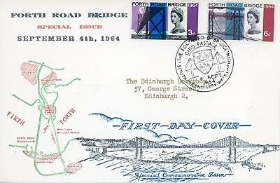 GB 1964 FRB (Ord) illust FDC SOUTH QUEENSFERRY H/S Cat £40