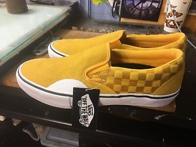 a12acd76122 VANS SLIP-ON PRO (Hairy Suede) Banana Size US 12 Men s VN0A347VRGH ...