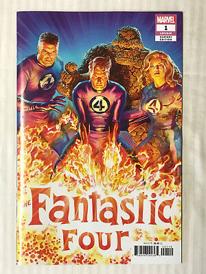 Fantastic Four #1 - 1:50 Variant! NM - Alex Ross Cover!