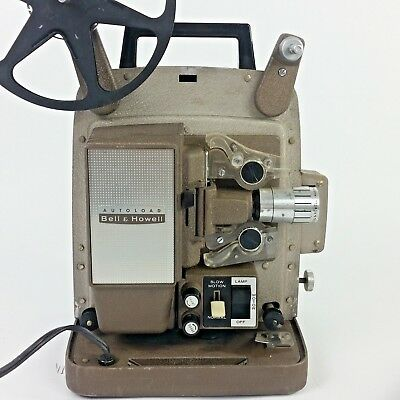 Vintage Bell & Howell Model 266A Autoload 8mm Movie Film Projector Tested Works