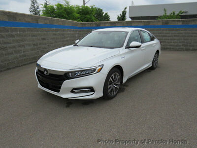 Honda Accord Hybrid EX-L Sedan EX-L Sedan New 4 dr CVT 2.0L 4 Cyl White Orchid Pearl