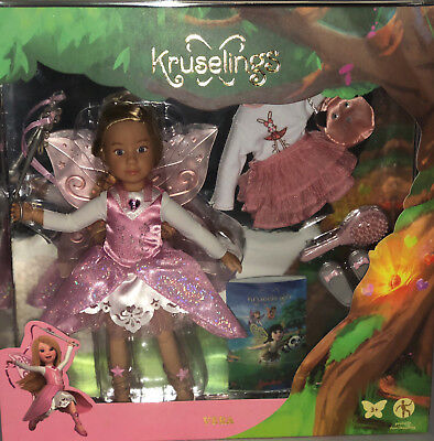 VERA KRUSELINGS DELUXE SET Doll Kathe Kruse H-Q Vinyl Lifelike Glass Eyes NEW