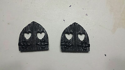 Windows for fairy house, Fairy door, mouse door, Gnome door