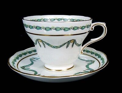Large Antique Hammersley Bristol Festoon Bone China  T. Goode London Cup Saucer!