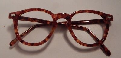 Vintage May Optical Co. Classic 50's Shape Color 2 46/22 Eyeglass Frame NOS