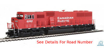 HO Walthers Mainline SD60M 3-Window - Canadian Pacific / CP #6260 - DC/DCC/Sound
