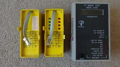 4 Pair Wire And T1 Testers Telecom Lot