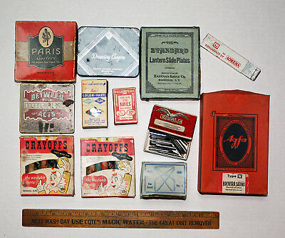 Collection Advertising Boxes Retro Vintage Group Clean Nice Tobacco Tin 1930's
