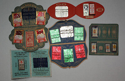Vintage Retro Needle Case Collection 1900-40 Naval Heroes 1898 Woolworth Great