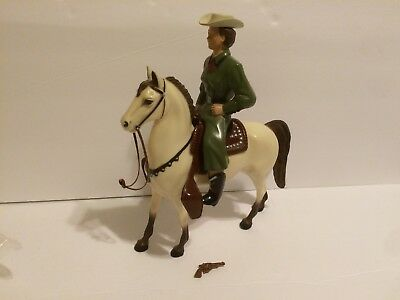 VINTAGE HARTLAND DALE EVANS WITH BUTTERMILK 1950s 60s Figure With Horse