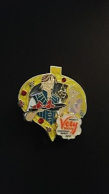 2015 Disney  Mickey's Very Merry Christmas Party Pin LE Flynn Rapunzel limited