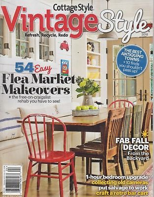 Cottage Style Vintage Style 2018 - 54 Easy Flea Market Makeovers Fab Fall Decor