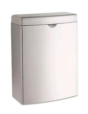 Bobrick Stainless  Sanitary Napkin Disposal Trash Can Model B-270 Surface Mount