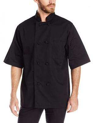 Dickies Chef Classic Knot Button Short-Sleeve Coat