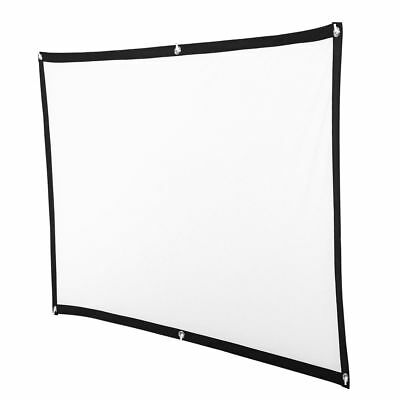 120 lightweight  Projector Screen 16:9 Cinema Outdoor 3D Movie Projection