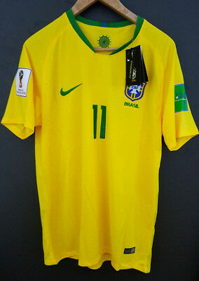 Maillot neuf - P. COUTINHO 11 - Russie coupe du monde 2018 - BRESIL - taille L -