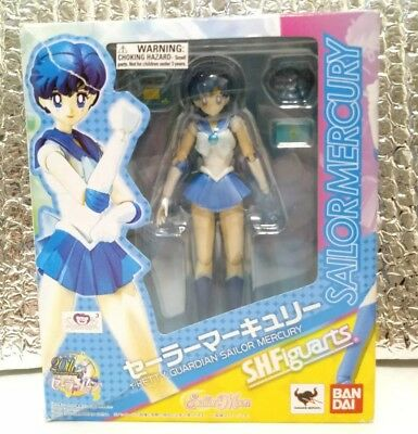 Anime Pretty Guardian Sailor Mercury Figuarts Ami Mizuno Action Figure Figma Toy