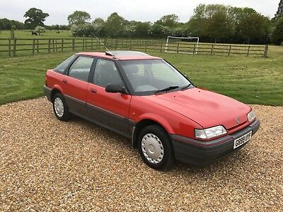 Rover 200 (R8) 214 Si | 1990 | Flame Red | 43k miles | History