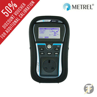 Metrel MI3311 GammaPAT Lite PAT Tester with built in checkbox and auto sequences