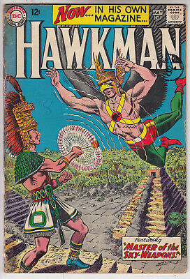 HAWKMAN  V1 #1  VG/VG+ 1st IN HIS OWN MAGAZINE 1964  AMERICAN D.C  COMIC