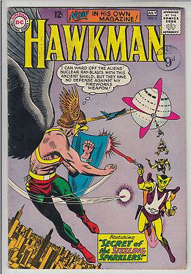 HAWKMAN  V1 #2  FN+/FN 2nd IN HIS OWN MAGAZINE 1964  AMERICAN D.C  COMIC