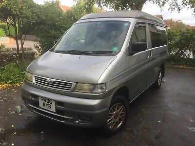 Mazda Bongo 2.5TD 4WD Auto with Removable Camper Pod & Awning