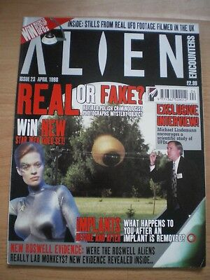 Alien Magazine, Issue 23, April 1988