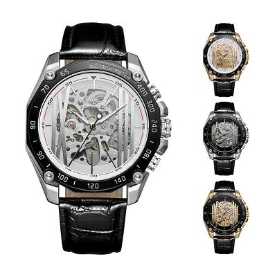 FORSINING Men's Mechanical Luxury Watch Automatic Vintage Skeleton Wrist Watches