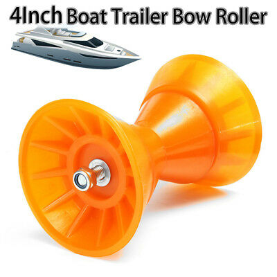 4''Inch Polyurethane Non Rust & Marking Yacht Rollers Boat Trailer Bow Roller